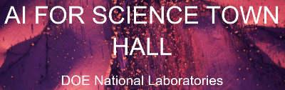 DOE AI for Science Town Hall Meetings 2019