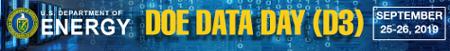 DOE Data Day (D3) 2019